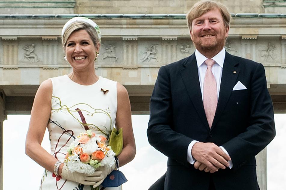 Berlin: Niederländisches Königspaar trifft Angela Merkel und Wolfgang Schäuble