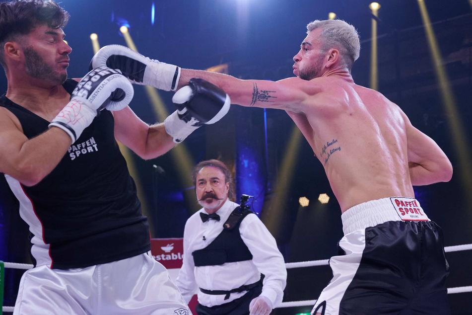Chaos beim Promiboxen: Beim Kampf zwischen Sam und Serkan springt Dritter in den Ring!