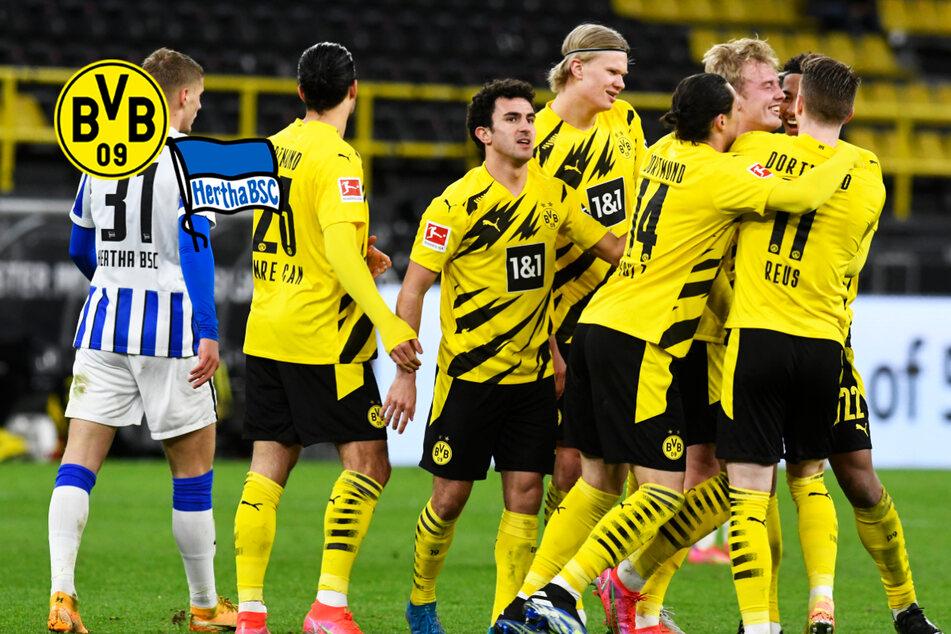 Julian Brandt profitiert von Rune Jarsteins Patzer: BVB ringt Hertha BSC nieder!
