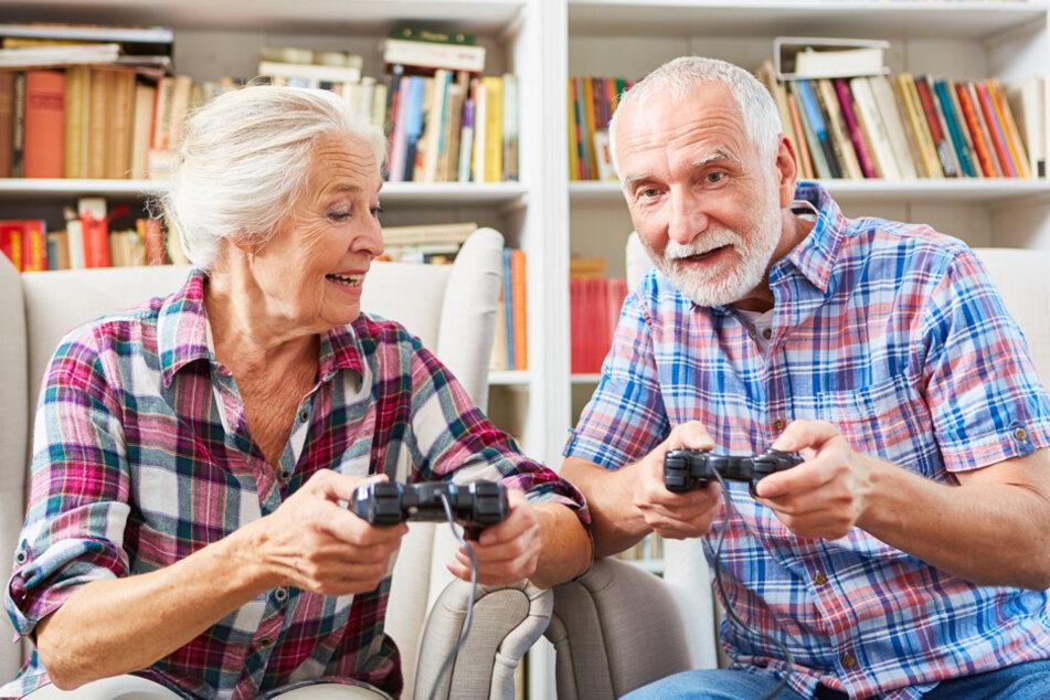 Daddeln statt Däumchen drehen: Immer mehr Gamer sind Generation 60plus