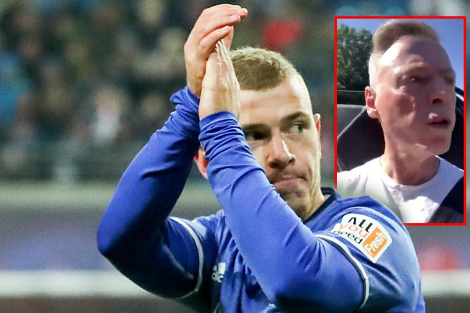 """Vater von Ex-Schalker Max Meyer mit Protz-Video: """"Mit dem bezahlten Lambo vom Pleite-Klub"""""""