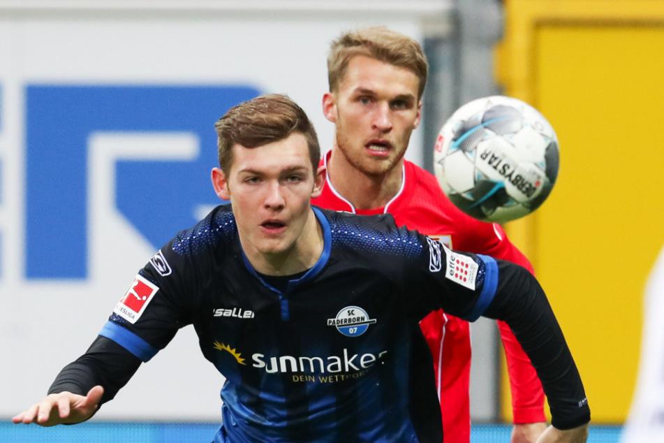 Luca Kilian (vorne) infizierte sich als erster Bundesliga-Profi mit dem Coronavirus.