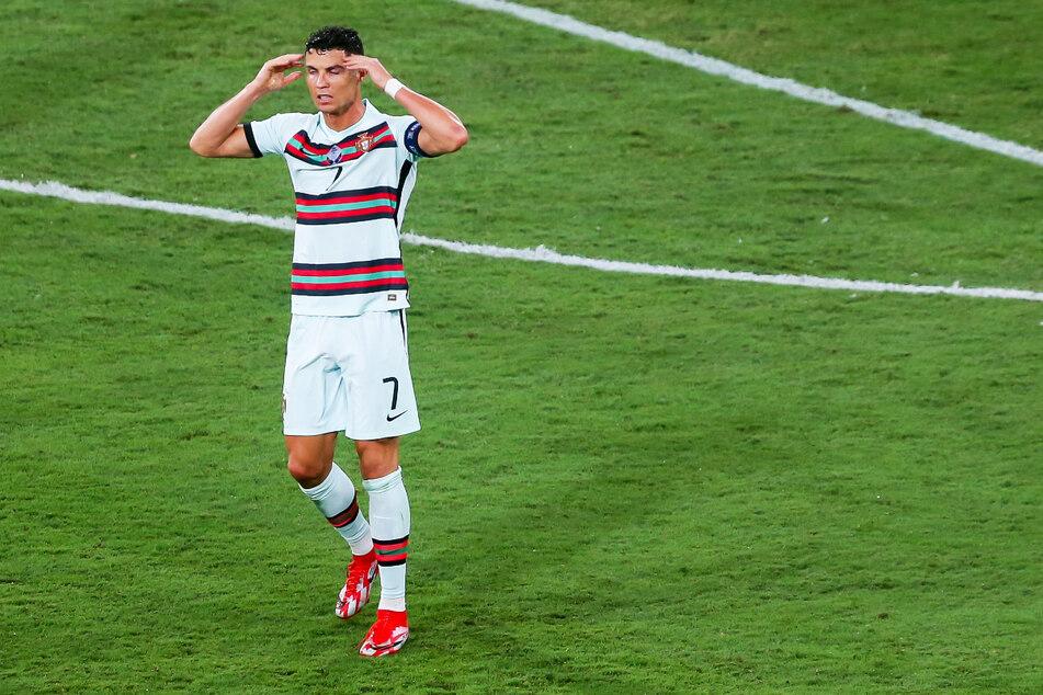 Cristiano Ronaldo ist mit dem amtierenden Europameister Portugal bereits im Achtelfinale ausgeschieden.