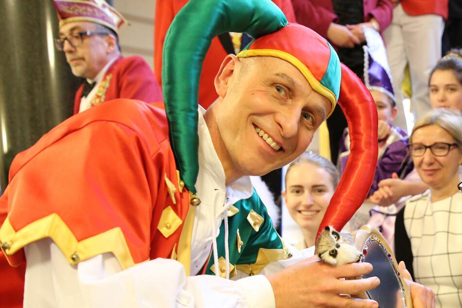 Lutz Scherling, Präsident des Karneval-Landesverbandes Mecklenburg-Vorpommern. (Archivbild)