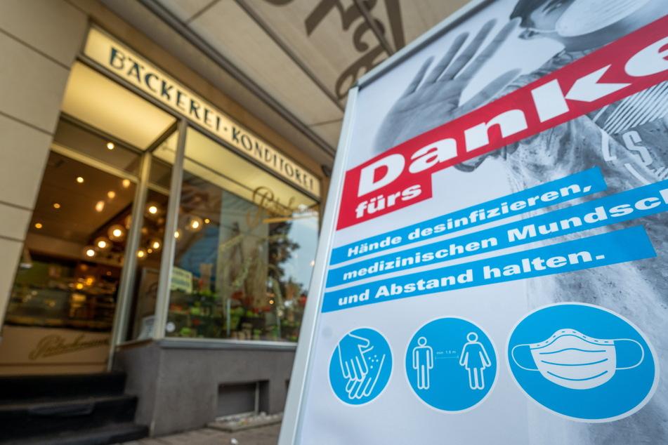 In der Bäckerei Pietschmann herrscht aktuell Maskenpflicht.