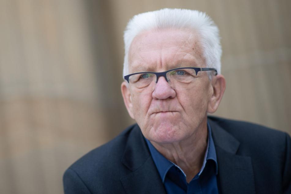 Ministerpräsident Winfried Kretschmann (72).