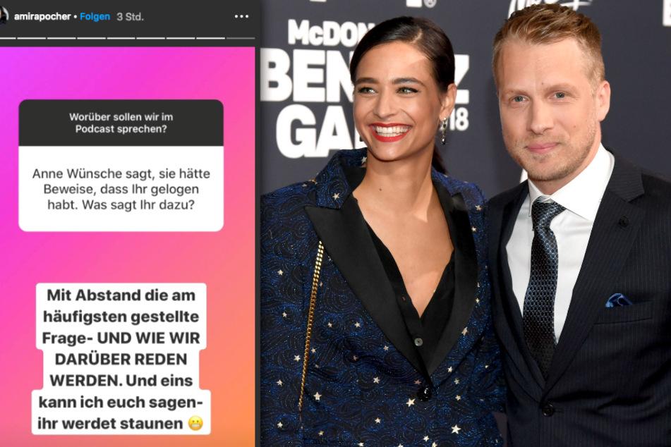 Schießen Oliver Pocher (42) und Ehefrau Amira (27) erneut gegen Influencerin Anne Wünsche (28)?