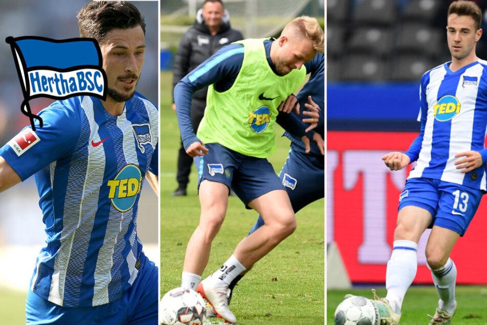 Hat dieses Trio bei Hertha keine Zukunft mehr?