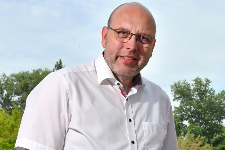Oberbürgermeister Olaf Raschke (58, parteilos) will den Fußverkehr künftig stärker berücksichtigen.