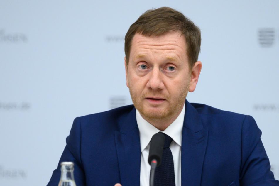 """Klare Worte von Ministerpräsident Michael Kretschmer (45, CDU): """"Die Lage in den sächsischen Krankenhäusern ist dramatisch."""""""