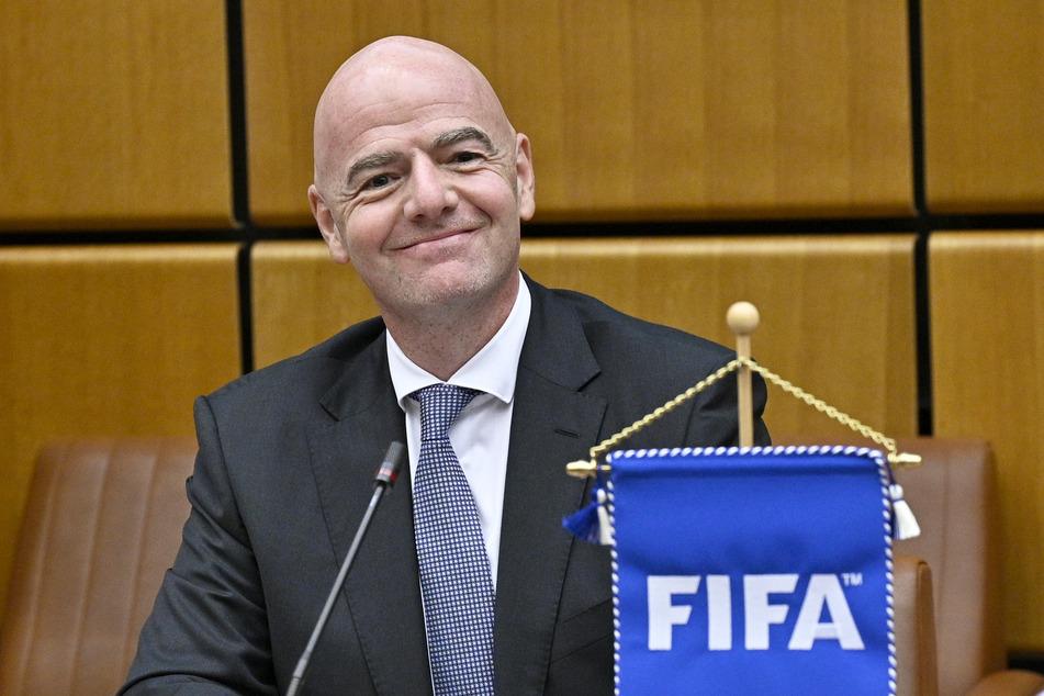 Gianni Infantino, Präsident des Weltfußballverbandes FIFA.