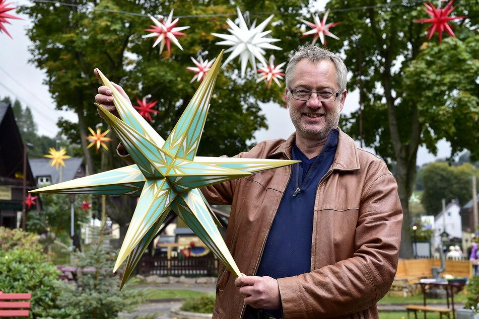 Die Vor-Weihnachtszeit hat begonnen, mit dem Sternenmarkt in Seiffen.