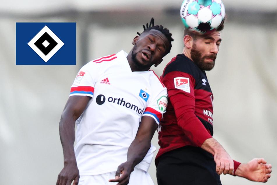 """""""Konsequenz hat gefehlt"""": HSV nach Remis gegen Nürnberg mit Selbstkritik!"""
