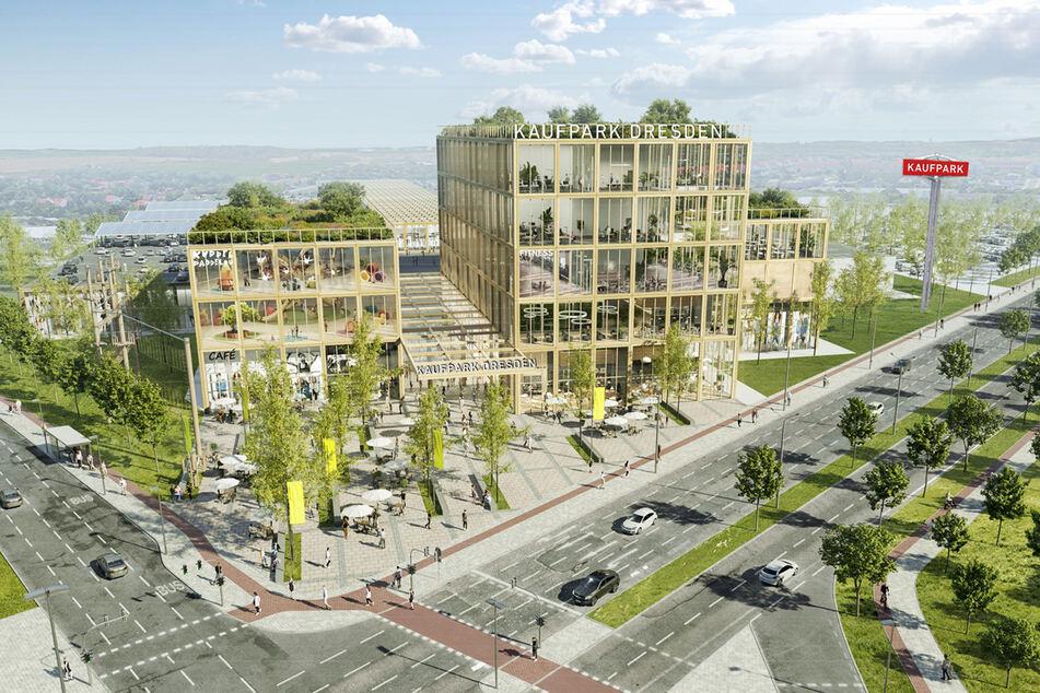 So soll der neue Kaufpark ab 2025 aussehen.
