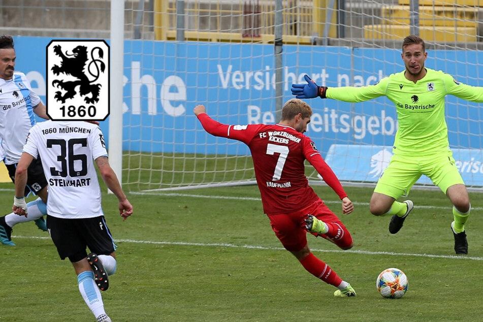 Löwen-Dämpfer! TSV 1860 kassiert gegen Würzburg bittere Heimpleite