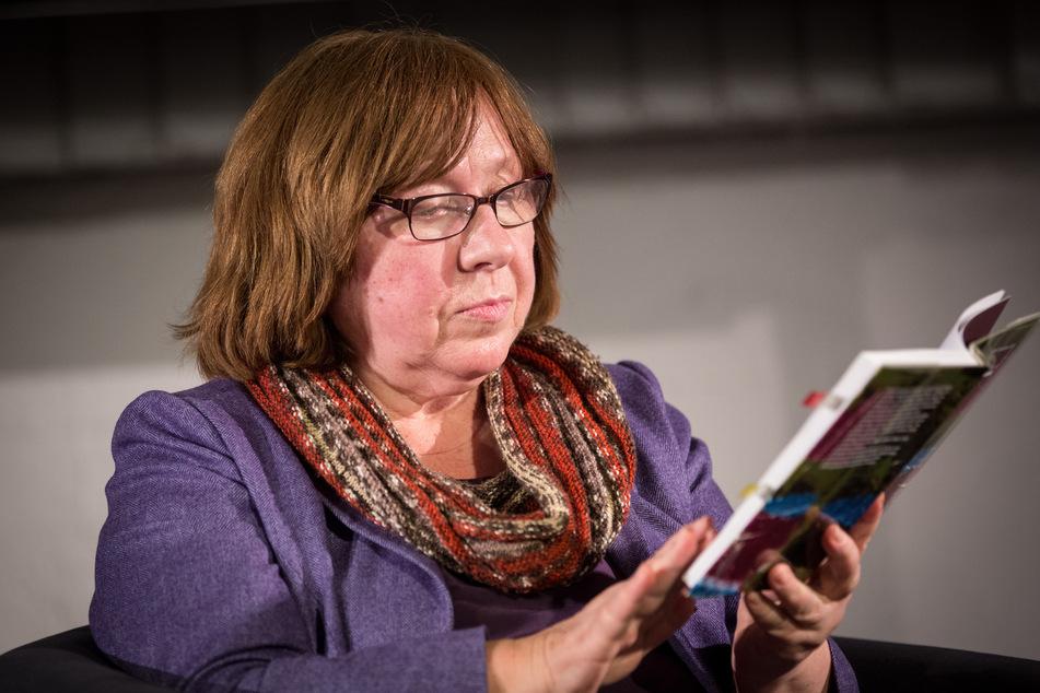 Auch Literaturnobelpreisträgerin Swetlana Alexijewitsch wurde für eine Podiumsdiskussion angekündigt.