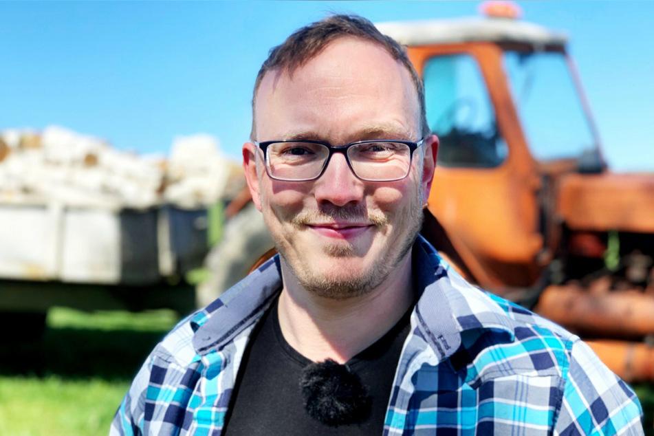 Landwirt Andy (35) sucht eine treue, humorvolle Partnerin.