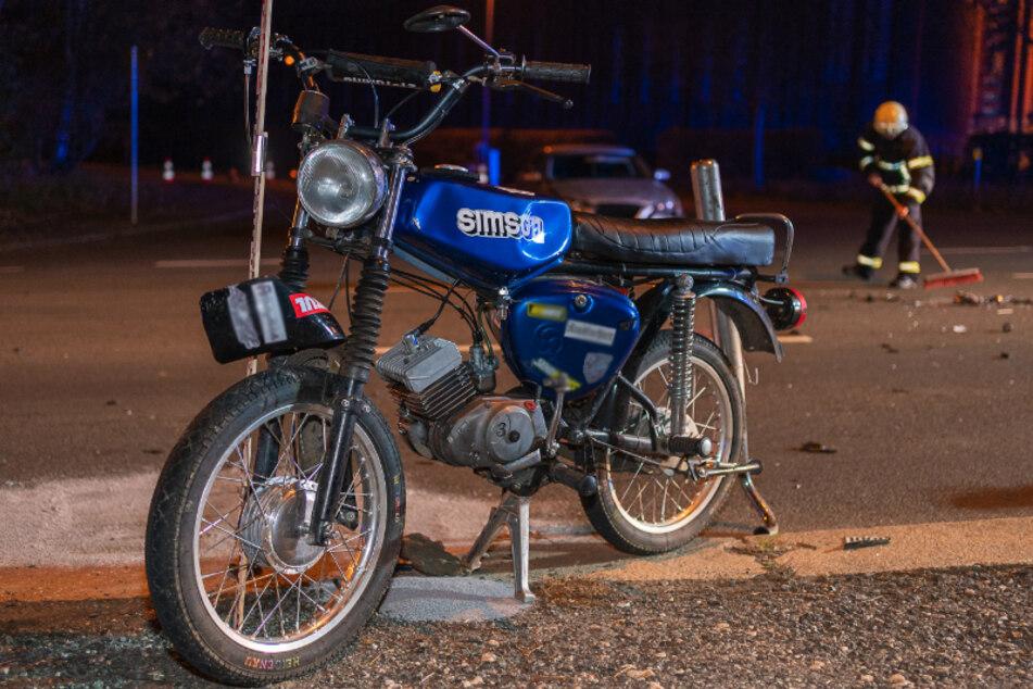 Vogtland: Zwei 15-Jährige bei Motorradunfall schwer verletzt