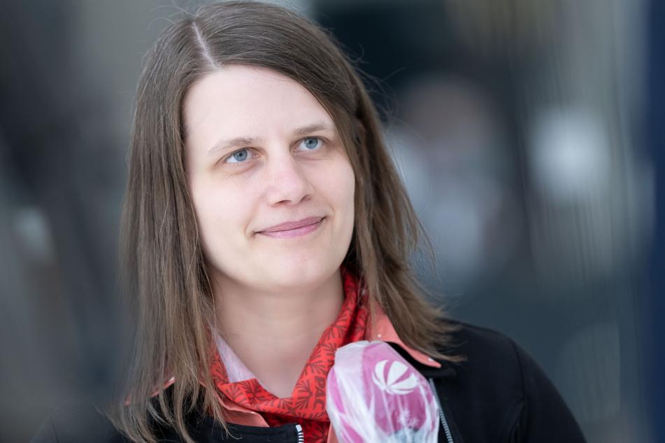 Julia Willie Hamburg, Fraktionsvorsitzende von Bündnis 90/Die Grünen in Niedersachsen.