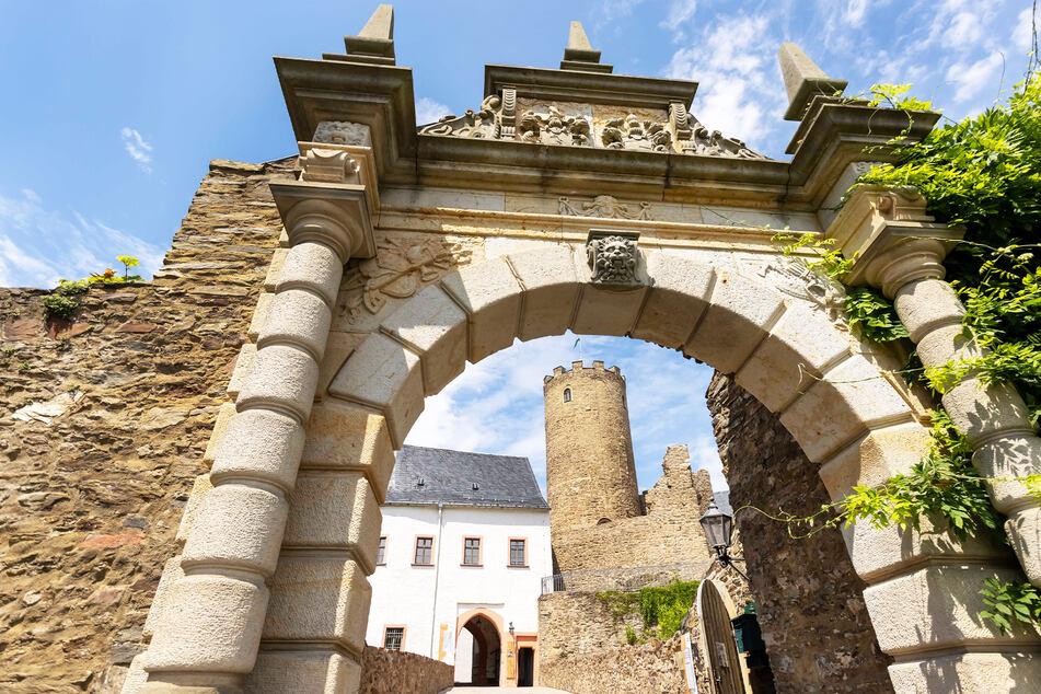 """Auf der Burg Scharfenstein öffnet das """"Lebendige Mittelalter-Dorf""""."""