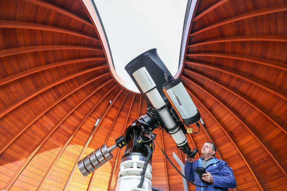 Mit diesem Teleskop habt Ihr einen schärferen Blick in den Himmel