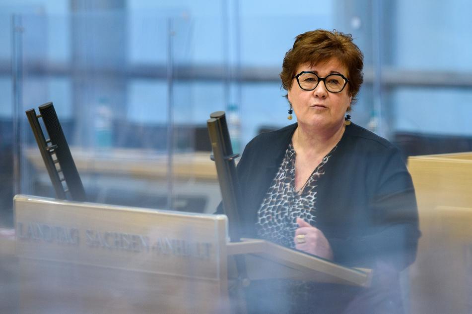 Sachsen-Anhalts Gesundheitsministerin Petra Grimm-Benne (58, SPD).