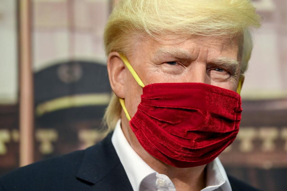 Madame Tussauds stellt Donald Trump unter Quarantäne