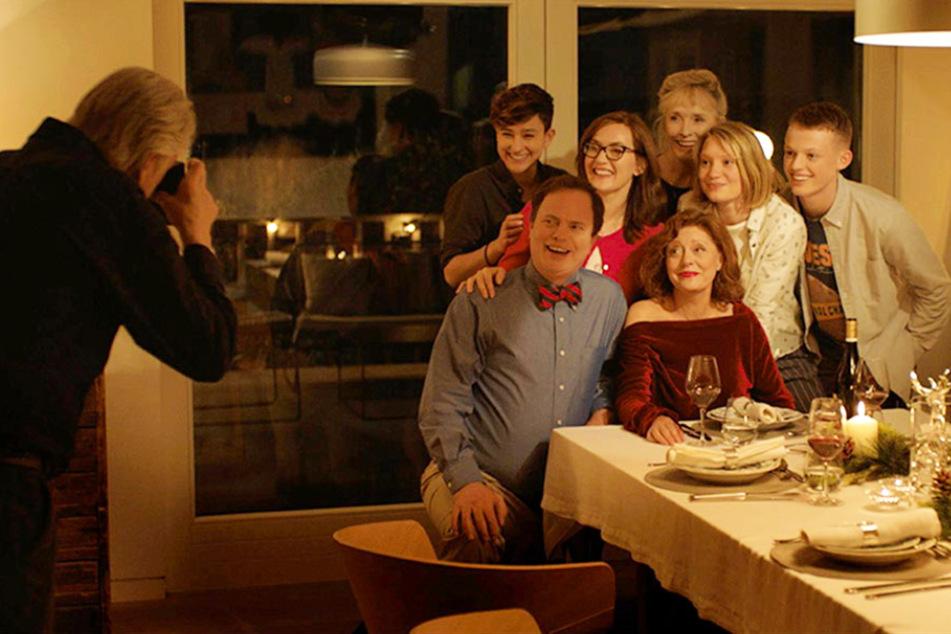 Ein letztes Mal kommt die Familie in dieser Konstellation zusammen.