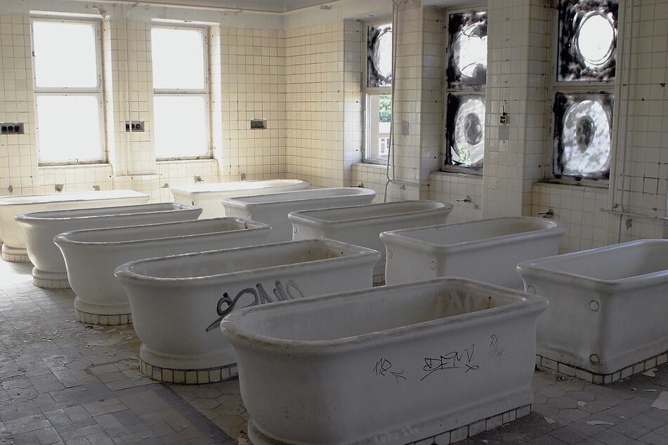 Seit 1994 ist das Sachsenbad geschlossen.