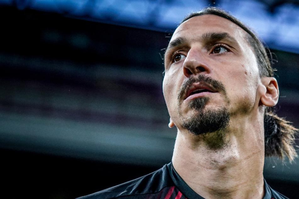 Der schwedische Fußball-Profi Zlatan Ibrahimovic.