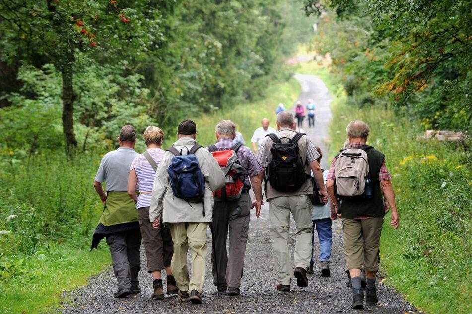 Wandern vor Corona: Wie viele Menschen in dieser Saison zusammenkommen dürfen, ist abhängig von der Inzidenz.