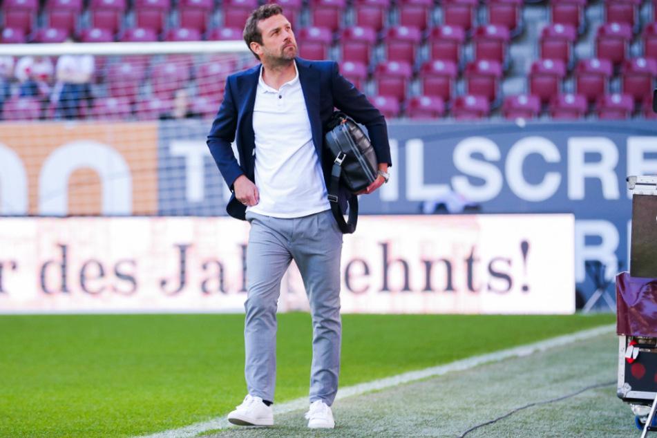 Der damalige VfB-Coach Markus Weinzierl (46) musste nach einer 0:6-Pleite gegen den FC Augsburg seine Tasche packen.
