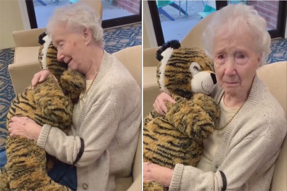This 97-year-old's reaction to a Christmas surprise is leaving TikTok users in tears