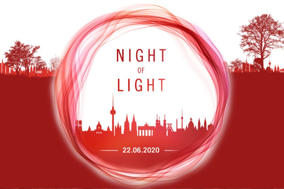 """Über 60 Firmen der Veranstaltungsbranche lassen Dresden heute zur """"Night of Light"""" erröten."""