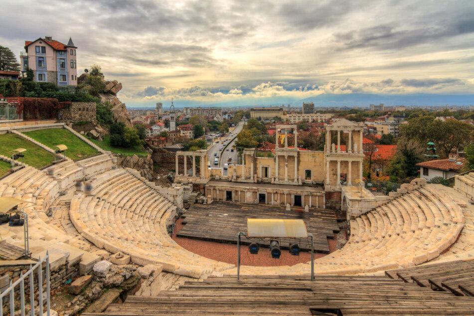 Bulgarien: Das antike Theater in Plowdiw ist durch Corona wie ausgestorben.