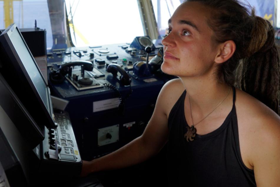 Kapitänin Carola Rackete will als Weiße nicht im Rampenlicht stehen