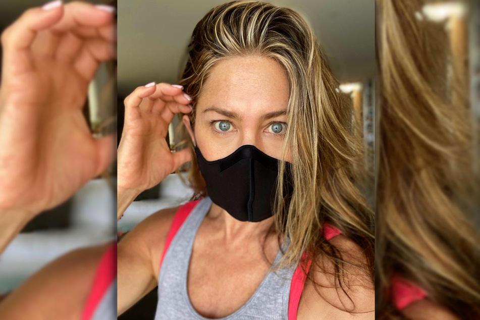 Aniston hat einen dringlichen Wunsch: Dass die Corona-Pandemie von vielen Leuten ernster genommen wird!