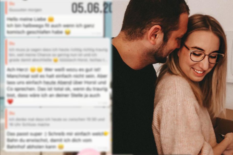 """Melissa von """"Hochzeit auf den ersten Blick"""" veröffentlicht traurigen Chatverlauf"""
