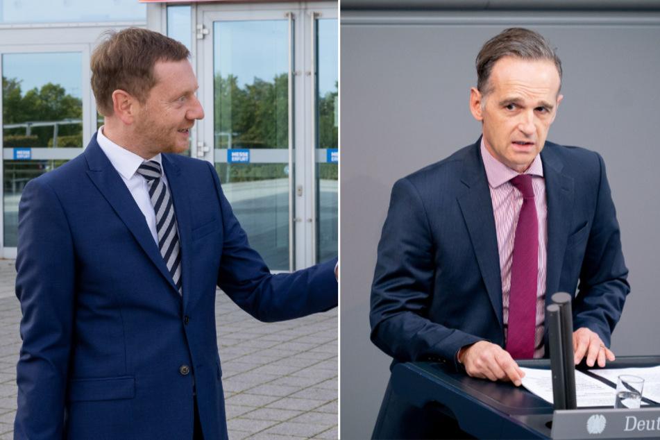 Sachsens MP Kretschmer attackiert Bundesaußenminister Maas