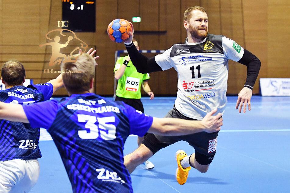 Arseniy und Ivar wieder da: HC Elbflorenz gewinnt Test gegen Dessau mit 33:28!
