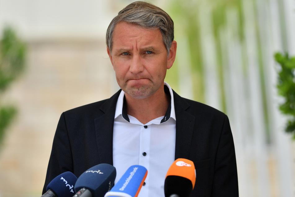 Das Gericht sah in der Aussage von Björn Höcke (49, AfD) eine zulässige Aussage.