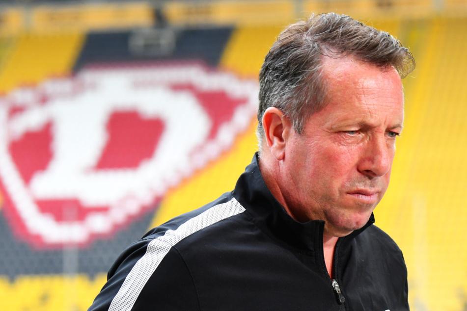 Macht sich Riesen-Sorgen, wie seine Dynamos die nächsten Spiele überstehen können: Markus Kauczinski.