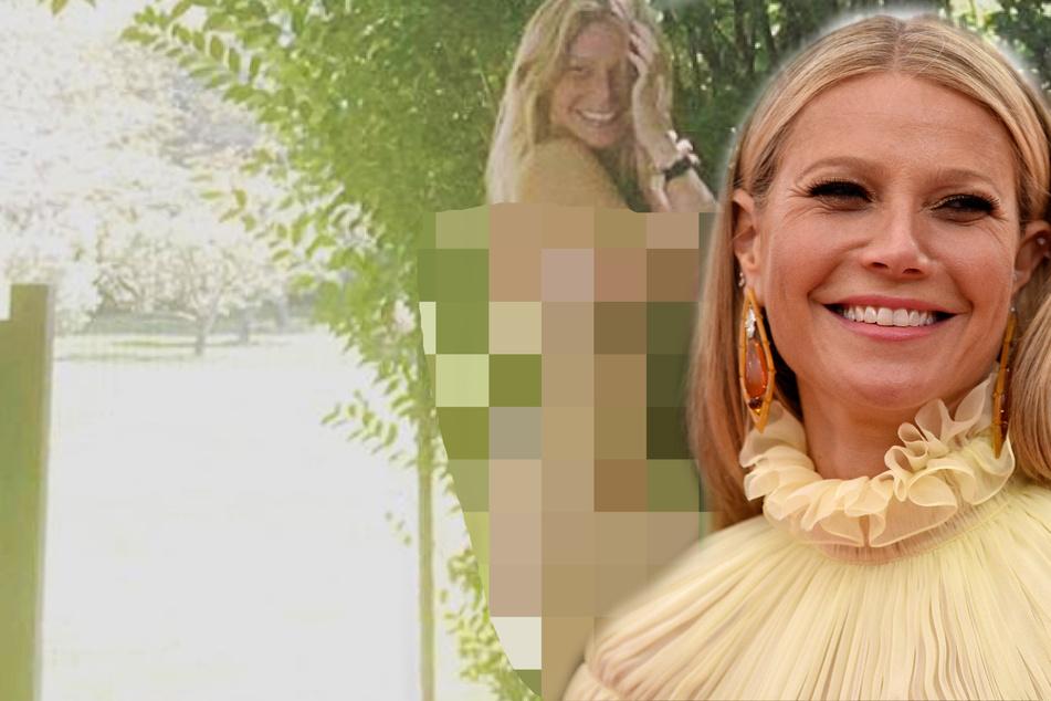 """Gwyneth Paltrow feiert in ihrem """"Geburtsoutfit""""!"""