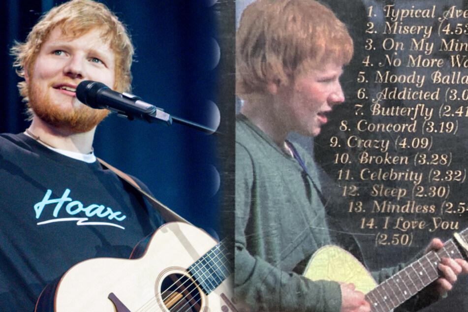 Ed Sheeran's teenage demo album auctioned off for impressive sum