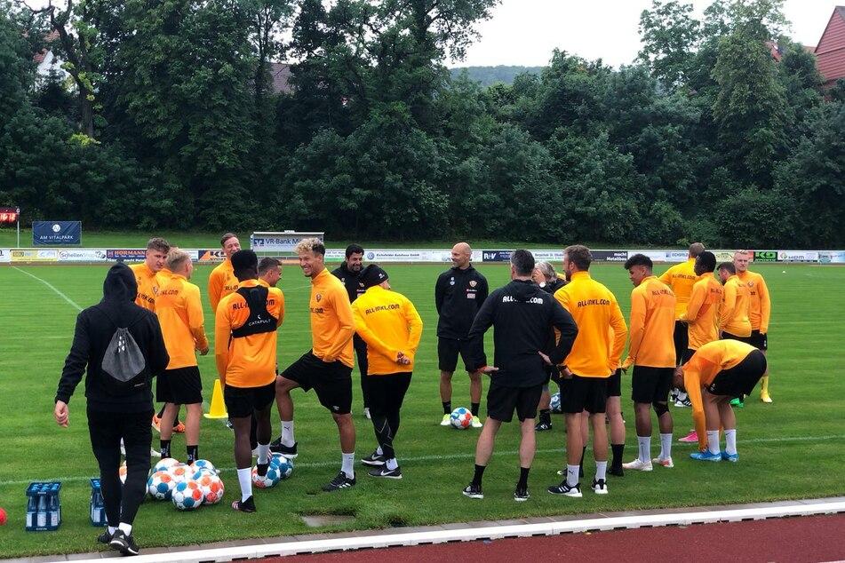 Gleich am ersten Nachmittag startete die erste Trainingseinheit im thüringischen Heilbad Heiligenstadt.
