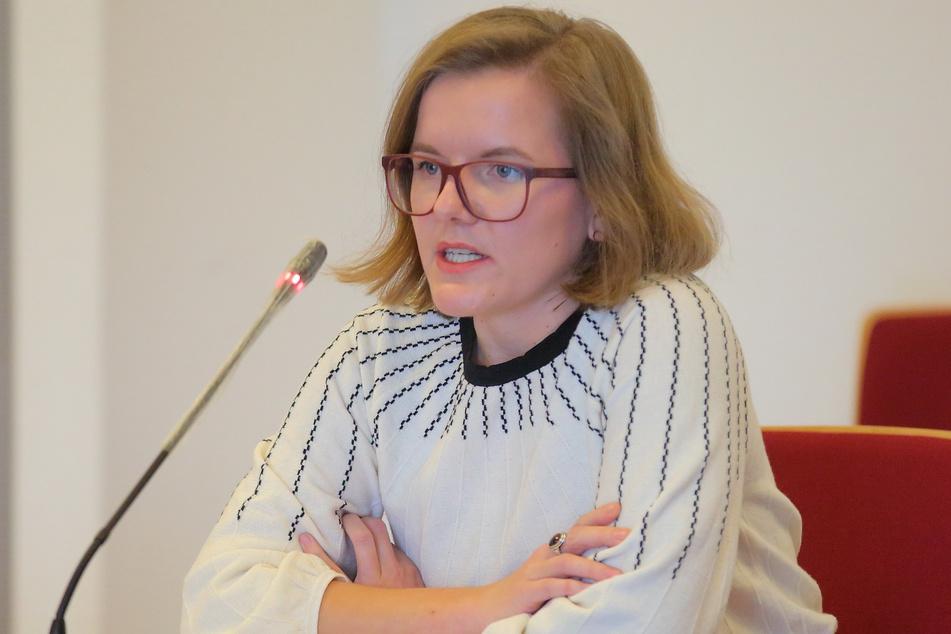 Agnes Scharnetzky (33, Grüne).