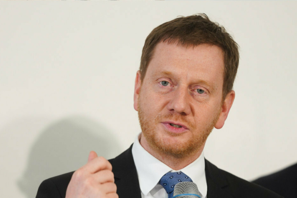 Ministerpräsident Michael Kretschmer (CDU) will weniger Einschränkungen ab dem 20. April.