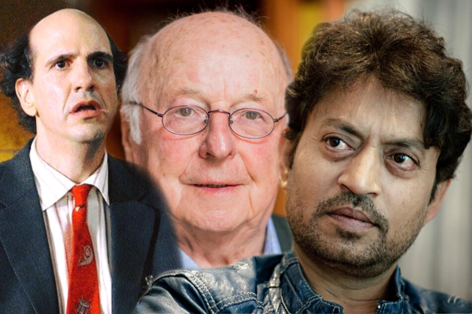 Sam Lloyd (l.), Norbert Blüm (M.) und Irrfan Khan.