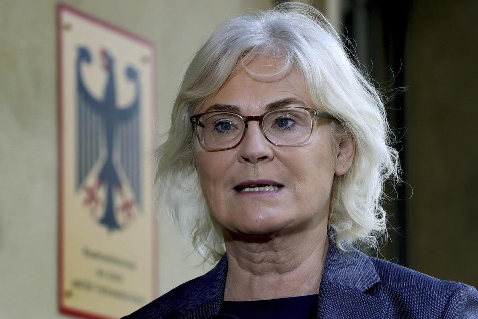Christine Lambrecht (SPD) ist die Bundesministerin für Justiz.