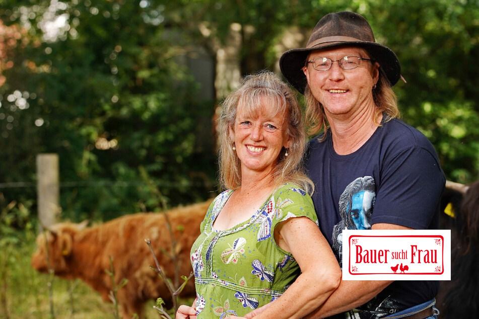 Bauer sucht Frau: Verliebter Sachsen-Bauer und seine Frau: Sie träumen schon von gemeinsamen Rindern